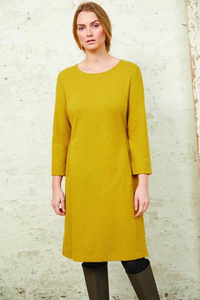 Kleid mit Taschen olive/honey