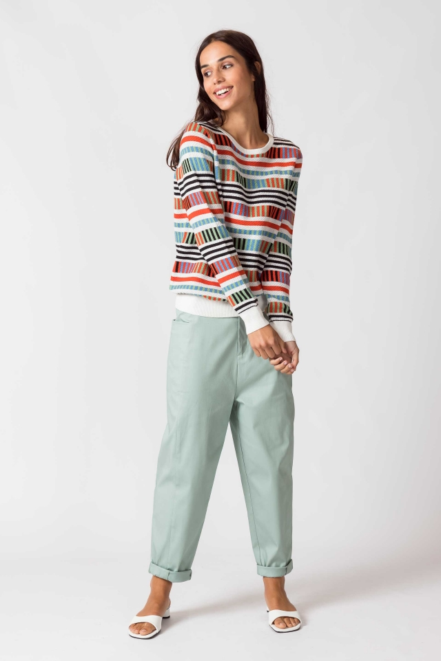 Iradi Women Sweater multicolor