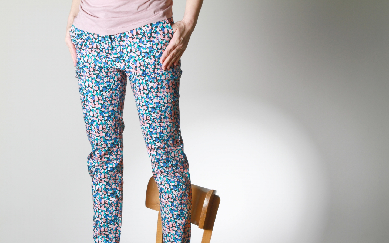 Alba Trousers blue multi