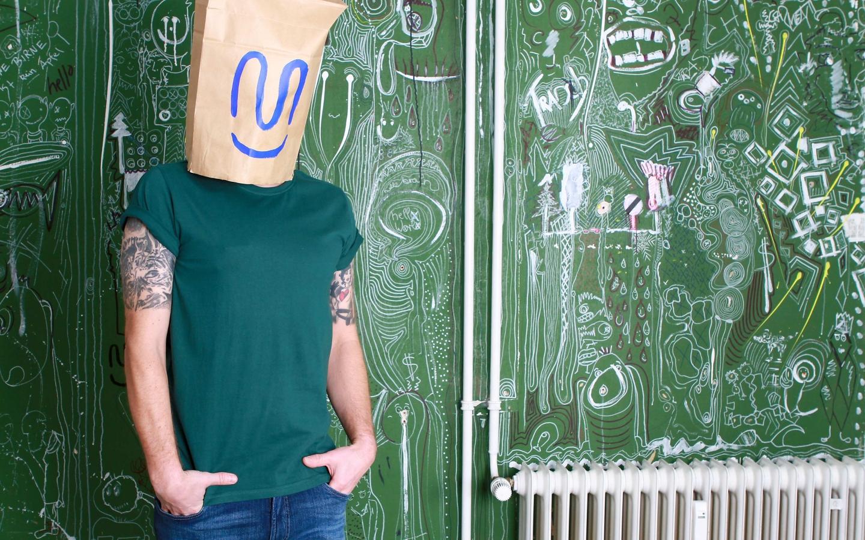 Melawear Men T-shirt green