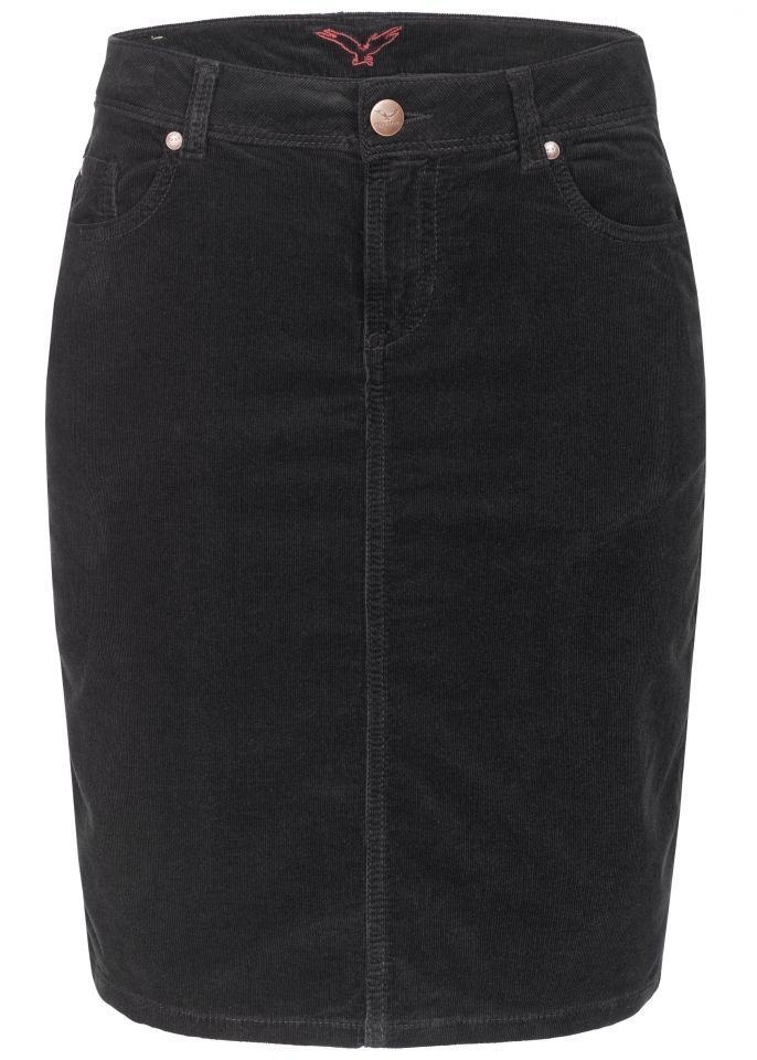 Svea Pencil Skirt black-black