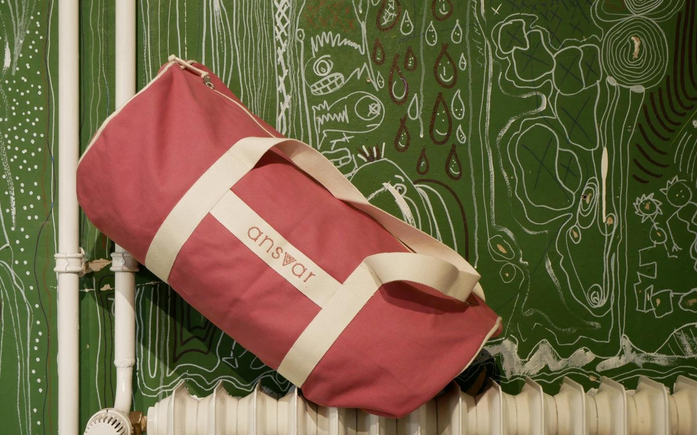 Sportsbag Ansvar III altrosa