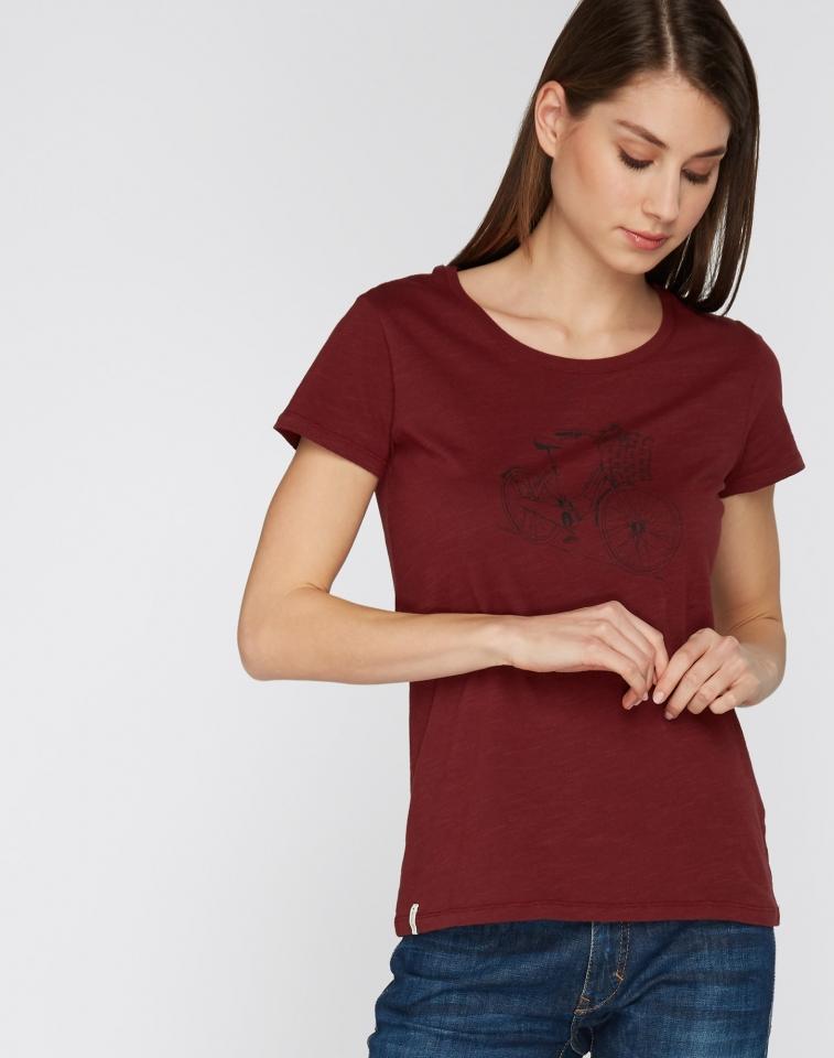 T-Shirt Basic Dutchbike burgundy