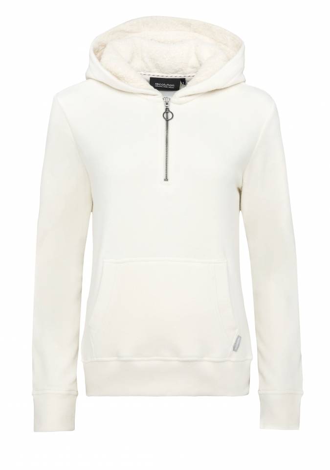 Basic Sweat Hoodie Polar sand