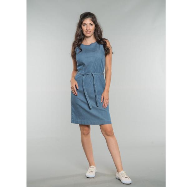Kim Shift Dress oceanblue