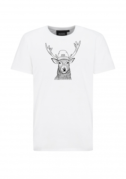 Basic-T-Shirt Hirsch