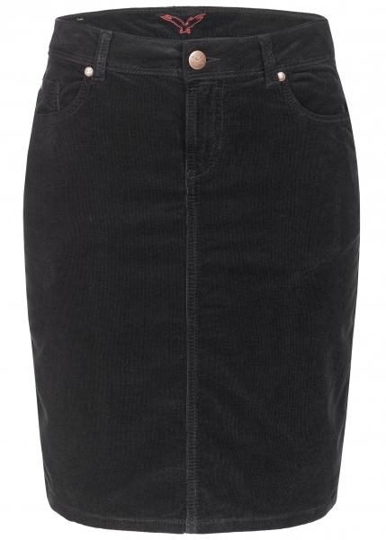 Svea Pencil Skirt black-black