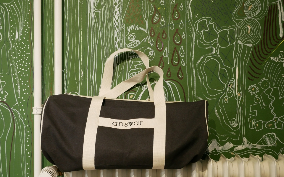 Sportsbag Ansvar III anthracite