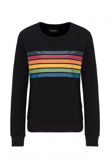 Frauen Basic Sweatshirt black