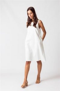 Anotz Women Dress white