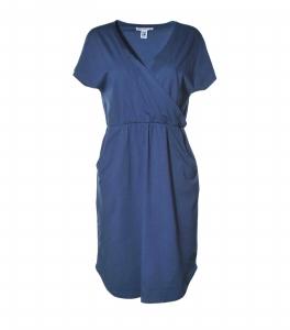 Kleid mit Taschen tintenblau
