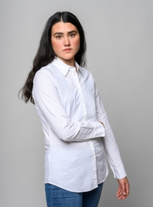 melawear Women Shirt Bluse white