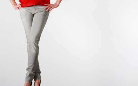 Svenja Fashion grey Jeans