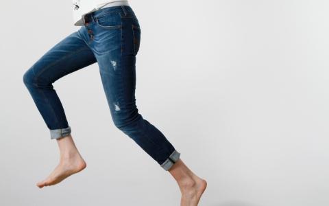 Jeans Satu destroyed Feuervogl