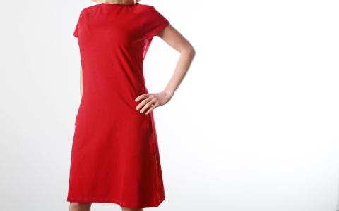 Kleid mit Taschen lava