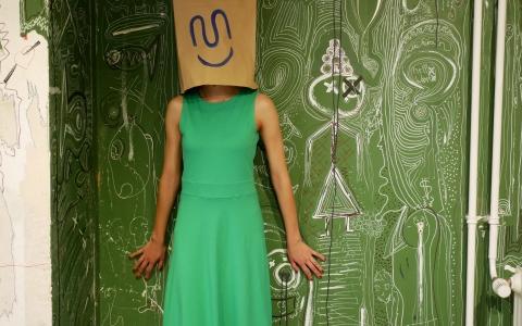 Rebecca Dress green