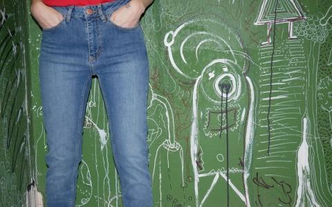 Inga  High Waist Jeans