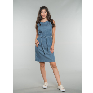 Kim Shift Dress oceanblue