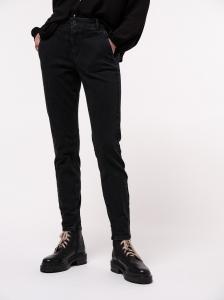 Lanius High-Waist Jeans black denim