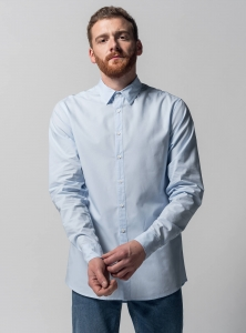 Melawear Hemd light-blue