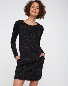 Frauen Jerseykleid Speckles